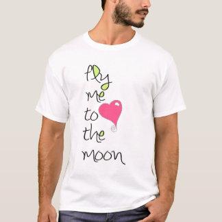 Voe-me à lua camiseta