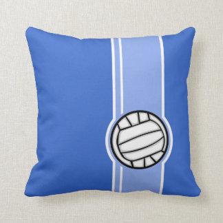 Voleibol; Azul Travesseiro De Decoração