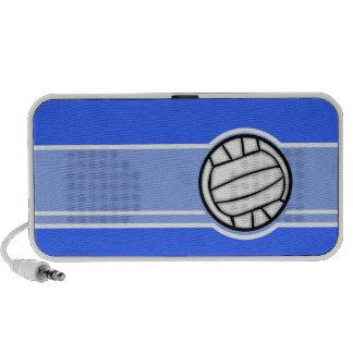 Voleibol Azul Caixinha De Som De Viagem