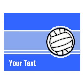 Voleibol Azul Cartões Postais