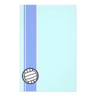 Voleibol; Azul Papel Personalizado