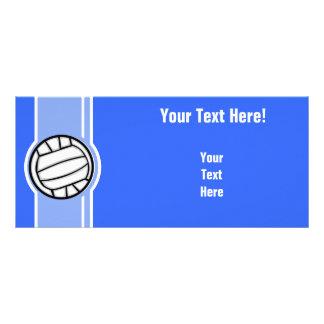 Voleibol Azul Modelo De Panfleto Informativo