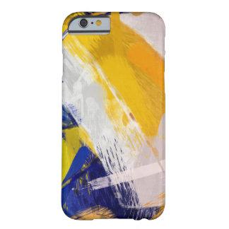 Voleibol de praia da arte abstracta capa barely there para iPhone 6
