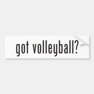 voleibol obtido? adesivo
