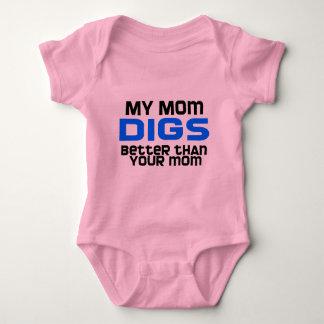 VolleyBaby meu MomDigs Body Para Bebê