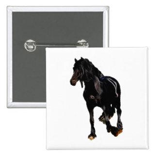 Volta repentina dos cavalos botons