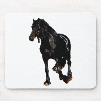 Volta repentina dos cavalos mouse pads