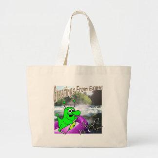 Volts transportar do dragão sacola tote jumbo