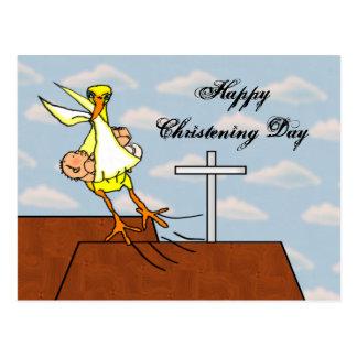Vôo do batismo cartão postal