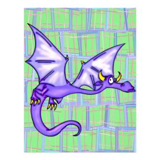 Vôo do dragão flyer 21.59 x 27.94cm