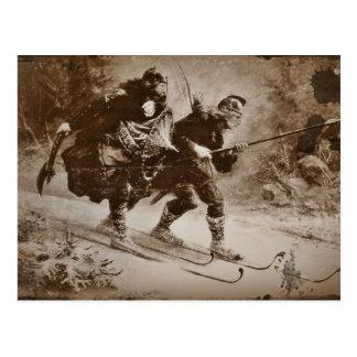 Vôo do rei infantil (3) cartão postal