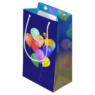 Vôo Ducky do balão pelos Feliz Juul Empresa Sacola Para Presentes Pequena