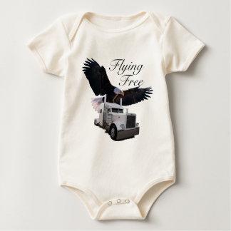 Voo livre macacãozinhos para bebê