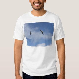 Voo livre camisetas
