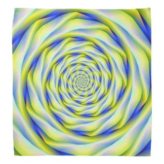 Vortex do Bandana no azul e no amarelo