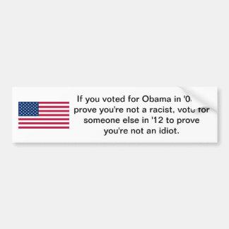 Votado para Obama Adesivo Para Carro