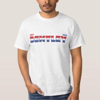 Voto Bentley 2010 eleições branco e azul vermelhos Tshirts