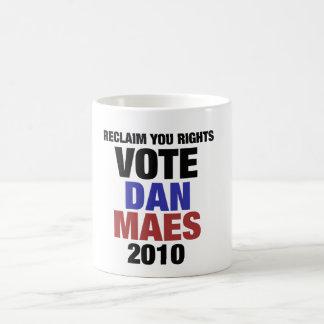 Voto Dan Maes Caneca