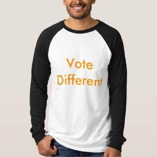 Voto diferente t-shirts