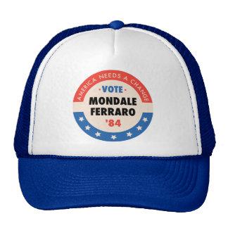 Voto Mondale/Ferraro '84 Boné