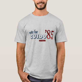 Voto para o T do adulto de Guido '85 Camiseta