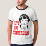 VOTO PARA o T político dos homens do humor de Tshirts