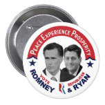 Voto republicano Romney & Ryan do voto Pins