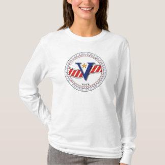 VOTUS - Vaginas da camisa dos Estados Unidos T