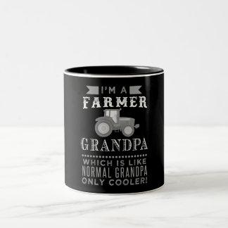 Vovô do fazendeiro, caneca legal do vovô do