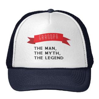 Vovô - homem, o mito, a legenda boné
