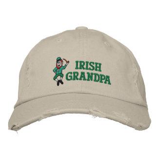 Vovô irlandês chapéu bordado boné bordado