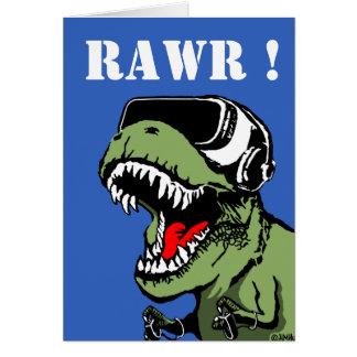 VR T-rex Cartão
