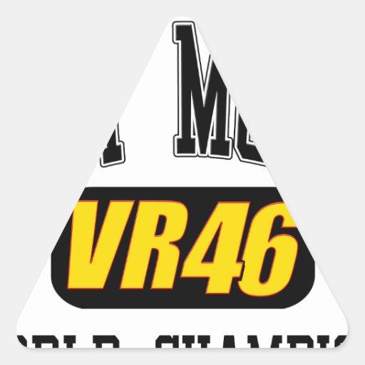 VRPropMom.png Adesivo Em Forma De Triângulo