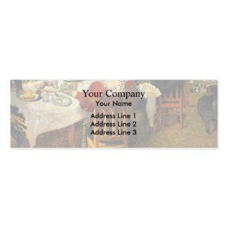 Vuillard-Fim de Edouard do pequeno almoço em Madam Cartao De Visita