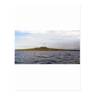 Vulcão da ilha de Rangitoto Cartão Postal