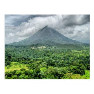Vulcão de Arenal - Costa Rica Cartão Postal