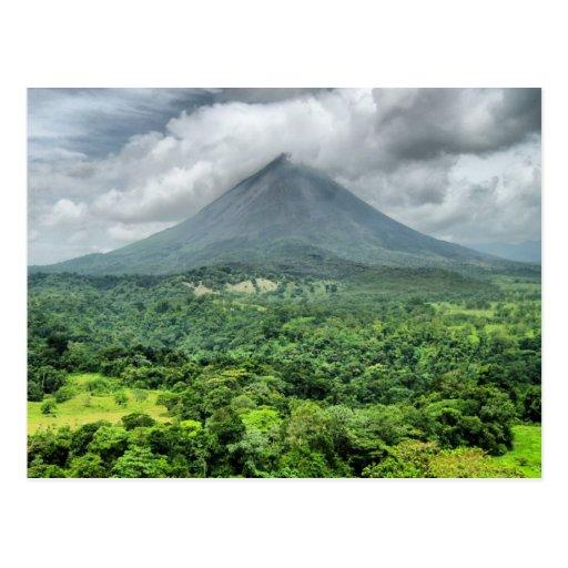 Vulcão de Arenal - Costa Rica Cartoes Postais