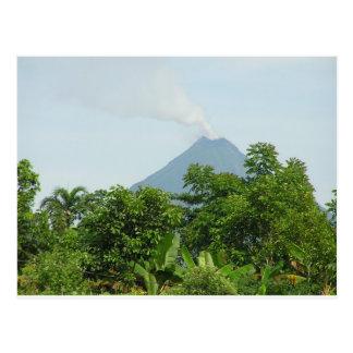 Vulcão de Arenal, Costa Rica. Cartão Postal