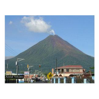 VULCÃO de ARENAL, Costa Rica Cartão Postal