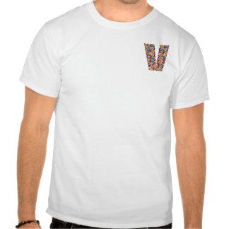 vvv   a JÓIA do ALFABETO SPARKLES, caso amoroso, Camisetas
