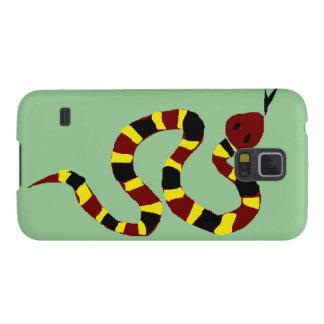 VW arte colorida do primitivo do cobra Capinhas Galaxy S5