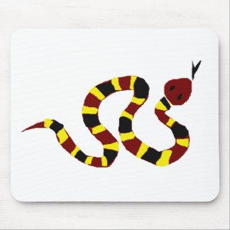 VW arte colorida do primitivo do cobra Mouse Pad