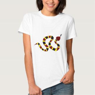 VW arte colorida do primitivo do cobra Tshirts