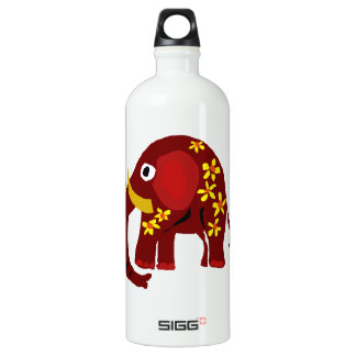 VW arte do primitivo do elefante e das margaridas