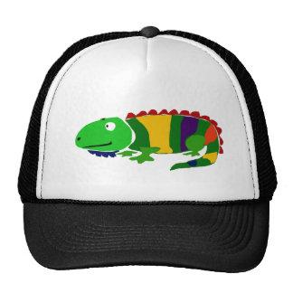 VW iguana primitiva Funky da arte Bonés