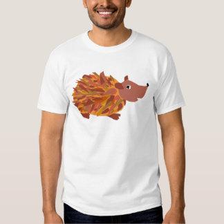 VW ouriço colorido engraçado T-shirts