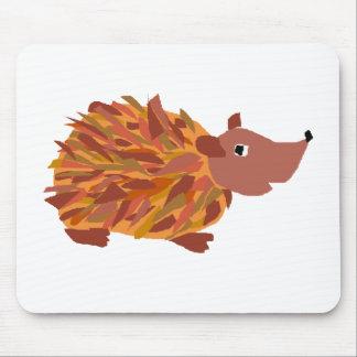 VW ouriço colorido engraçado Mousepad
