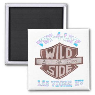 VWS-4-Life ímã do quadrado de 2 polegadas Ímã Quadrado