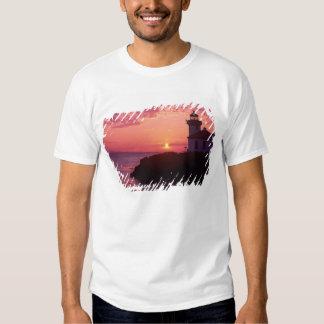 WA, ilha de San Juan, estufa de limão Farol, 1919, Camiseta