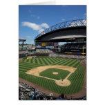 WA, Seattle, campo de Safeco, basebol dos navegado Cartoes